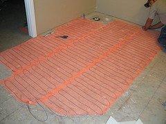 Heated floor technology